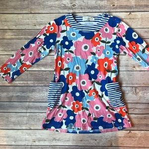 Other - Pocketed Floral Tunic Dress